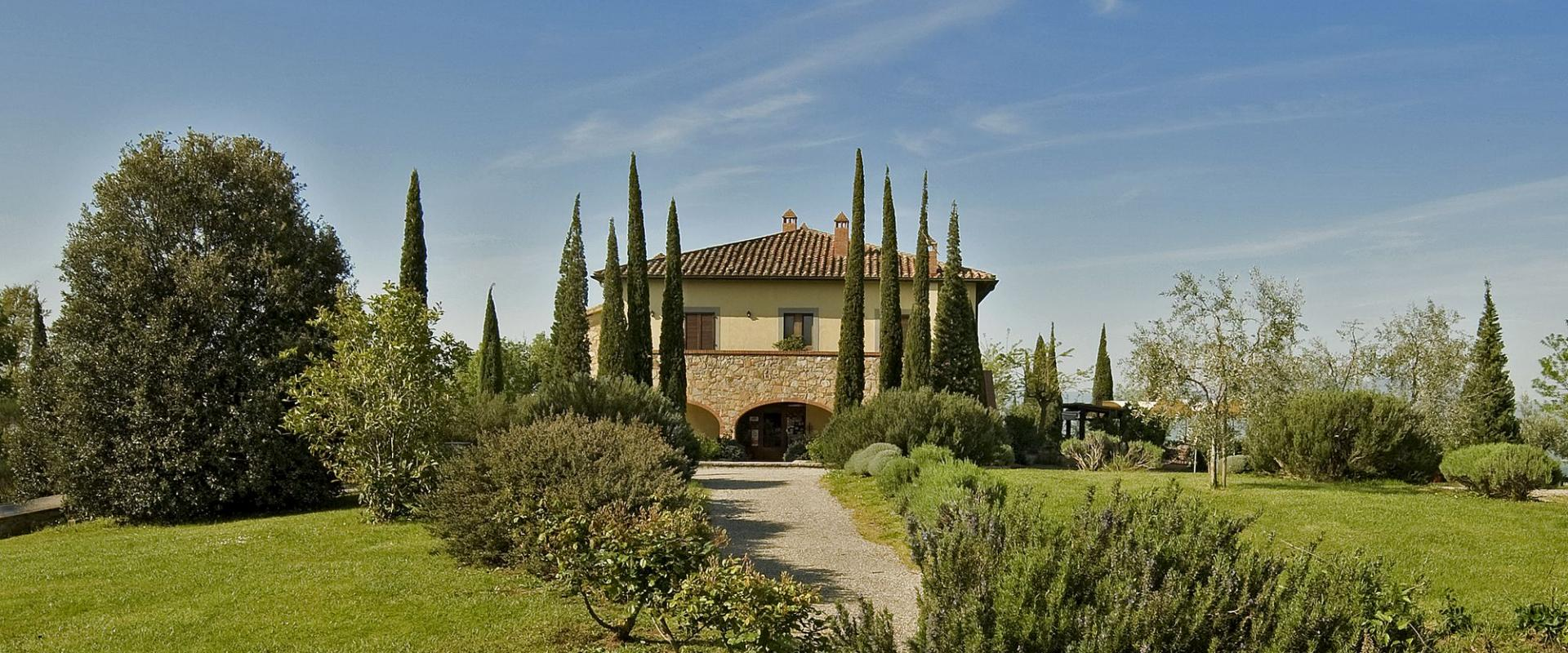 The Il Poggio Farmhouse and Resort in Siena